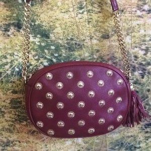 Michael Kors Ginni studded bag cherry